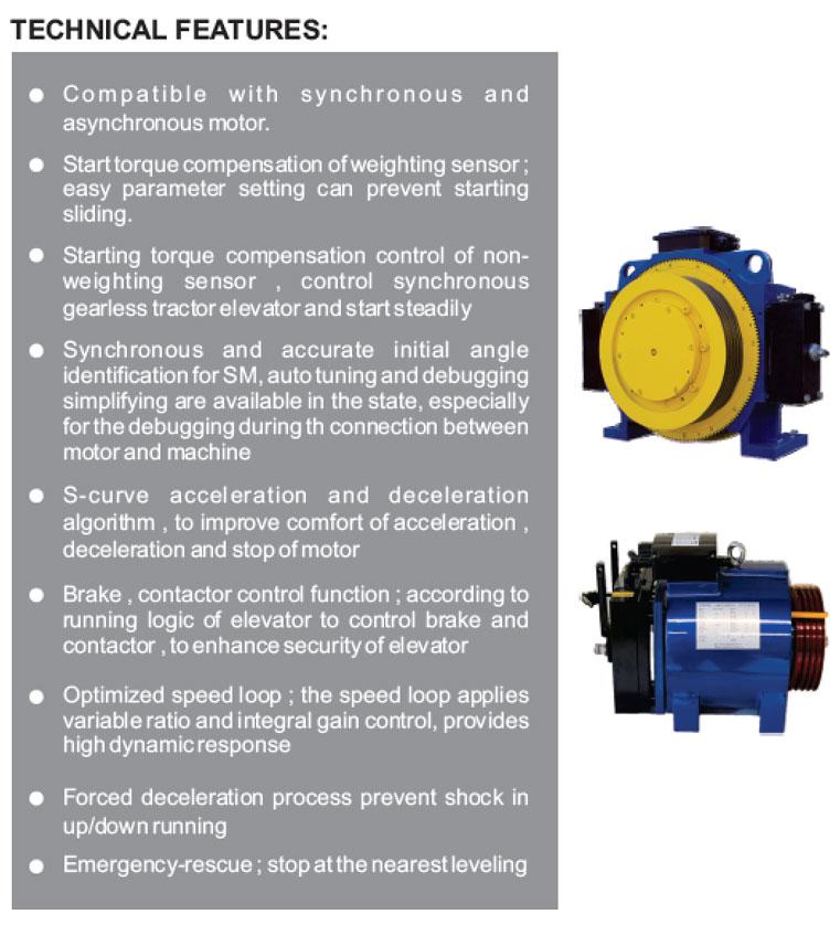 ED550EL Inverter Technical Detail