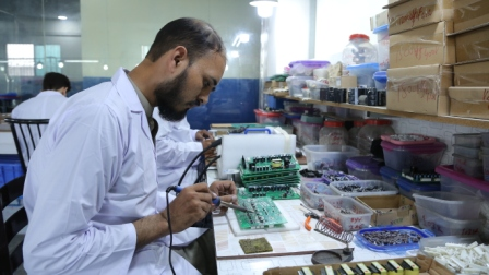 Manufacturing Process at M. Mkhalil Electric & Co.
